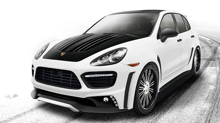 สวยแบบแปลกๆ Porsche Cayenne Turbo Black Bison Edition แต่งโดย Wald