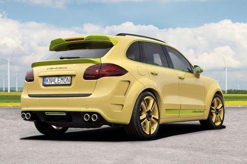 Porsche Cayenne Vantage 2 Lemon เอสยูวีแต่งเปรี้ยวเหลืองมะนาว โดย TopCar