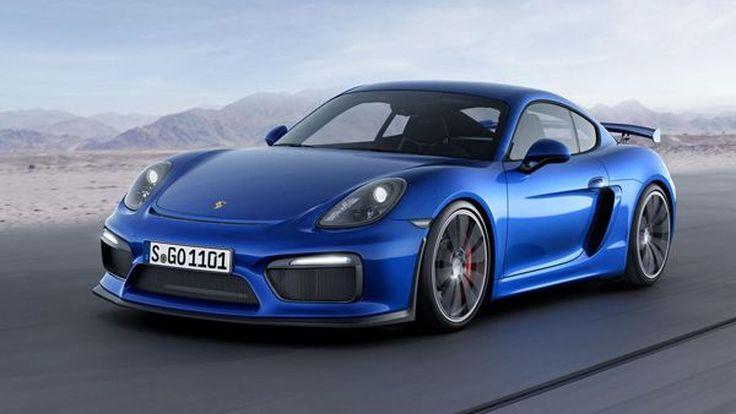 Porsche วางแผนผลิตรถสปอร์ตที่ทรงพลังกว่า Cayman GT4