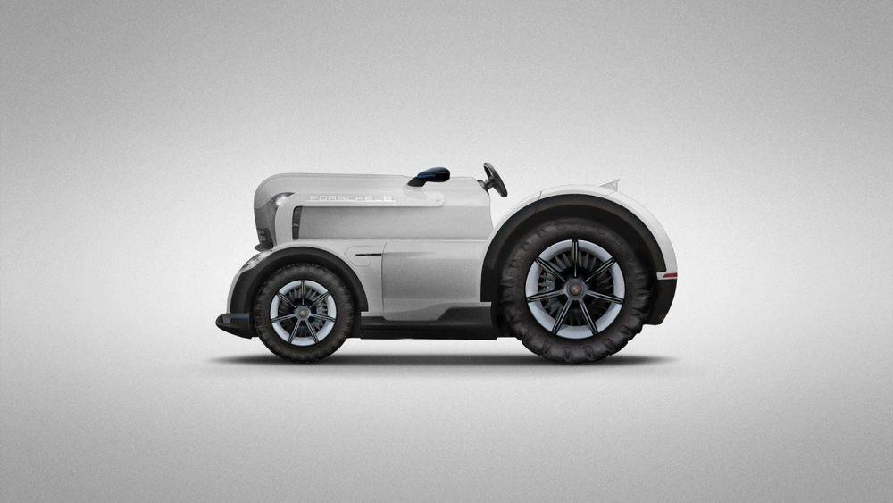 จริงหรือแกล้งต้อนรับวันApril Fool's Day เมื่อ Porsche เปิดเผยการพัฒนา Mission E Tractor รถแทรคเตอร์ไฟฟ้าที่พกม้ามาถึง 700 ตัว !!