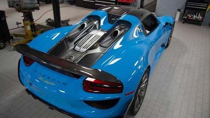 Porsche เรียกคืน 918 Spyder อีกแล้ว หลังพบชิ้นส่วนคาร์บอนไฟเบอร์บกพร่อง