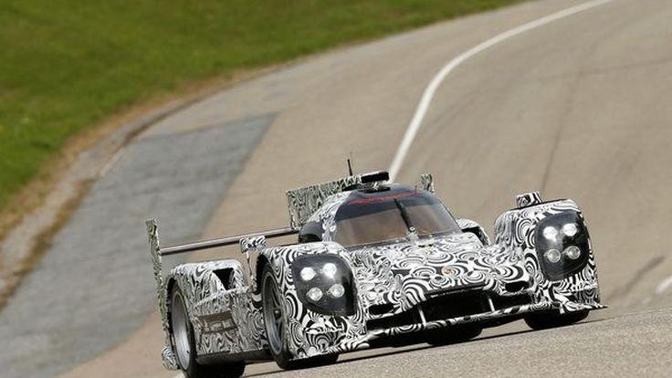 Porsche LMP1 Prototype sports รถแข่งตัวล่าสุด เปิดตัวพร้อมเตรียมแข่ง 2 รายการ