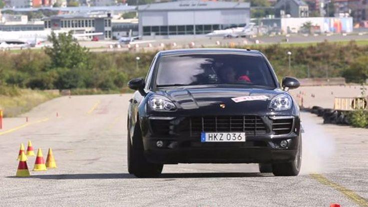 Porsche Macan สอบตกการทดสอบหักหลบสิ่งกีดขวาง