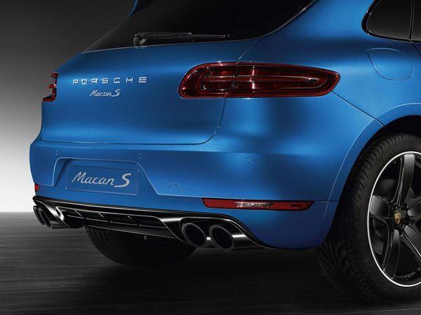 Porsche Macan สะดุดตายิ่งขึ้นด้วยแพ็คเกจ Sport Design
