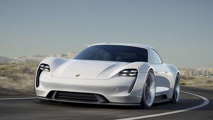 [แฟรงก์เฟิร์ต] ปอร์เช่ มิชชั่น อี รถต้นแบบพลังไฟฟ้า รีด 600 แรงม้า