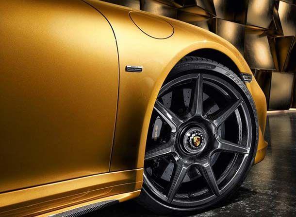 Porsche นำเสนอนวัตกรรมล้อคาร์บอนไฟเบอร์