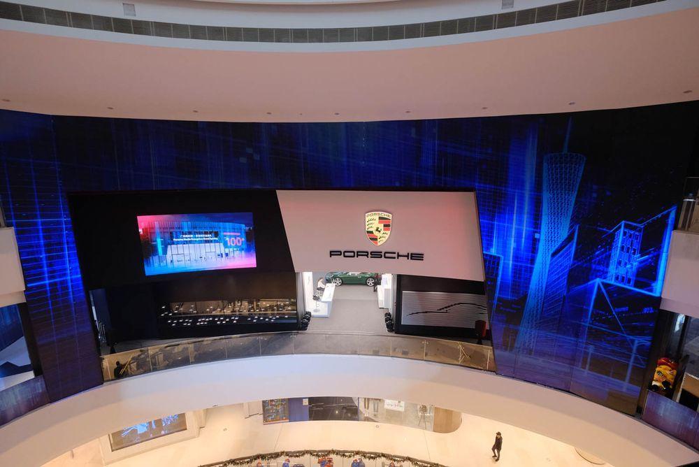ตลาดใหญ่! Porsche เปิดโชว์รูมแห่งที่ 100 ในประเทศจีน