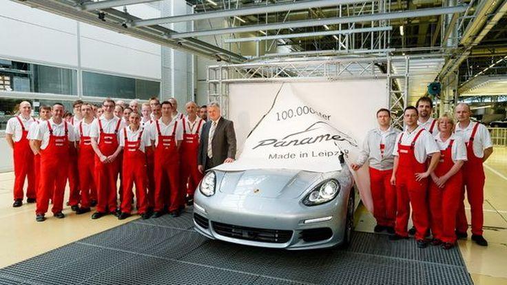 Porsche Panamera ถูกใจผู้บริหาร ผลิตไปแล้ว 100,000 คัน