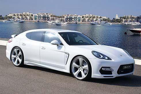 Porsche Panamera แต่งท้ายสไตล์ Audi R8 ในชุดแต่งโฉม Rivage GT 970 จาก Hofele Design