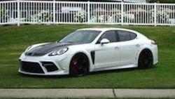 Porsche Panamera Turbo รถแต่งในชุดขาวจาก Mansory ขอแก้ตัวผ่านทาง RTW Motoring