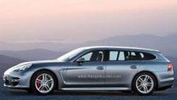 Porsche เตรียมโชว์ตัวรถต้นแบบ Panamera Wagon ที่ปารีส มอเตอร์โชว์