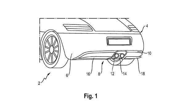 Porsche ซุ่มพัฒนาแผงดิฟฟิวเซอร์หลังแบบปรับแอคทีฟ