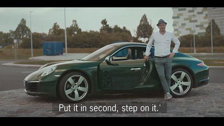 Porsche ให้ชาวเมืองสตุทการ์ท 11 คน ขับรถ Porsche 911 คันที่ 1 ล้าน