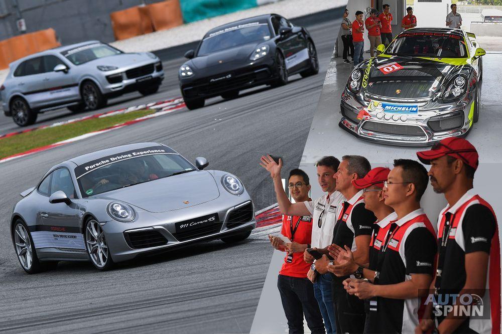 PorscheMDA ฝึกทักษะกับตัวแรงและครูฝึกระดับนักแข่งแชมป์ LeMans