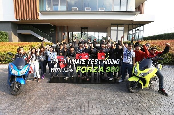 """The Ultimate Test Riding Experience with New Forza300"""" ที่ """"Escape Khaoyai"""