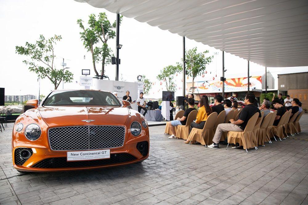 [PR News] เบนท์ลี่ย์ ประเทศไทยโชว์ Continental GT W12 และ Continental GT3 ครั้งแรกในกิจกรรม Be Extraordinary – GT Family day