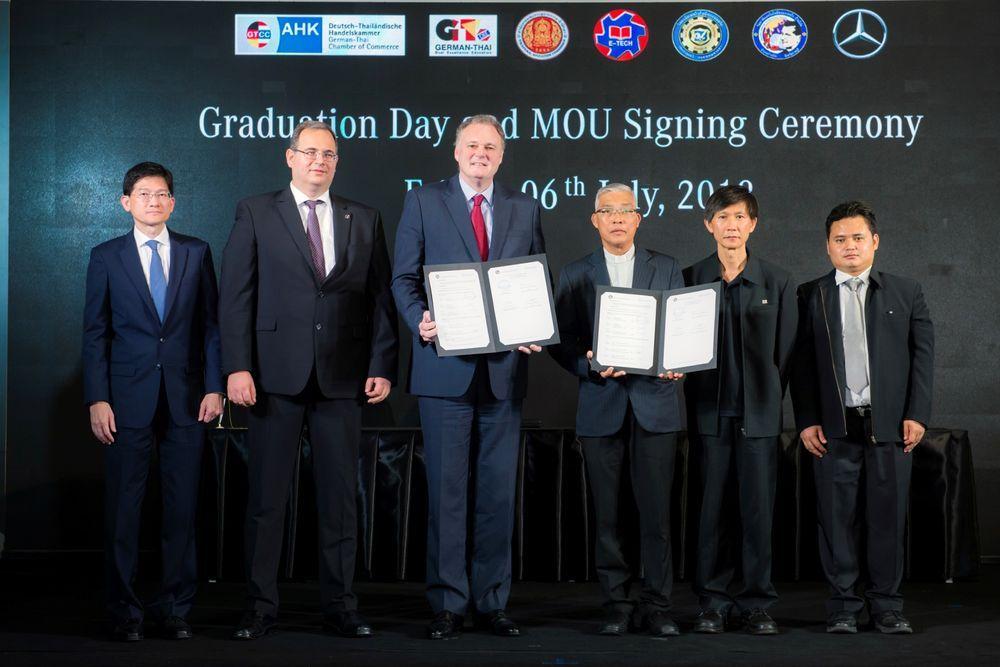 [PR News]เมอร์เซเดส-เบนซ์ ขยายโครงการหลักสูตรทวิภาคี ลงนามจับมือ  ดอนบอสโก บ้านโป่ง เพิ่มโอกาสพัฒนาเด็กอาชีวะไทย