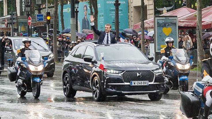Presidential DS 7 รถประจำตำแหน่งผู้นำคนใหม่ของฝรั่งเศส
