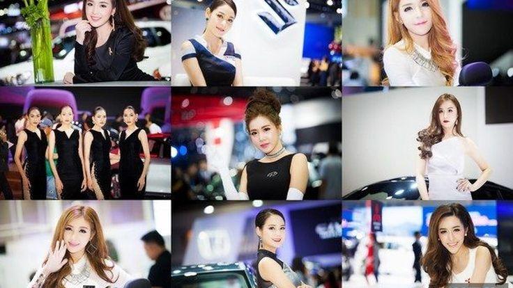 [BIMS2017] ภาพเน้นๆ ไม่พูดเยอะ รวมดาวสาว Pretty Motor Show 2017 กับความน่ารัก สดใส