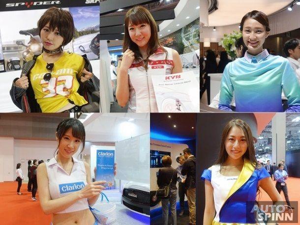 [Tokyo2017] เก็บตกพริตตี้ Tokyo Motor Show 2017 กับความน่ารัก สดใส ส่งตรงจากญี่ปุ่น