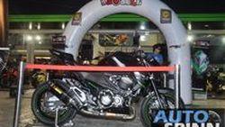 พรีวิว ชมตัวเป็นๆและรายละเอียด Kawasaki Z800 คร่าวๆ ในงานมีตติง Motoaholic