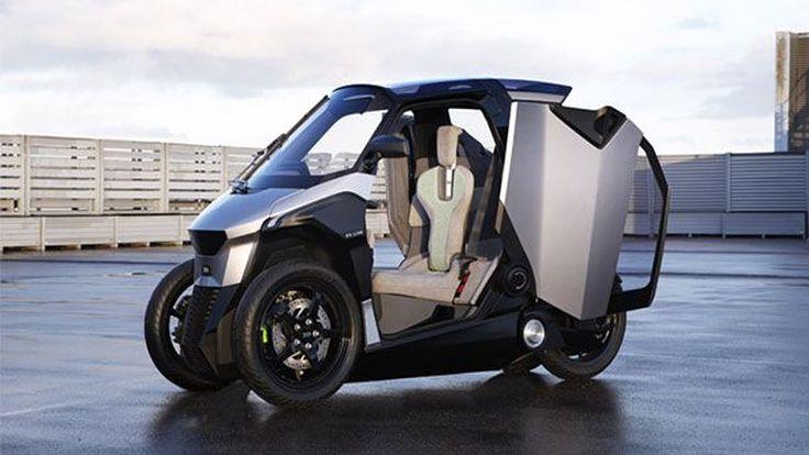 กลุ่ม PSA Group เปิดตัวรถต้นแบบสี่ล้อเล็ก พลังปลั๊กอินไฮบริด