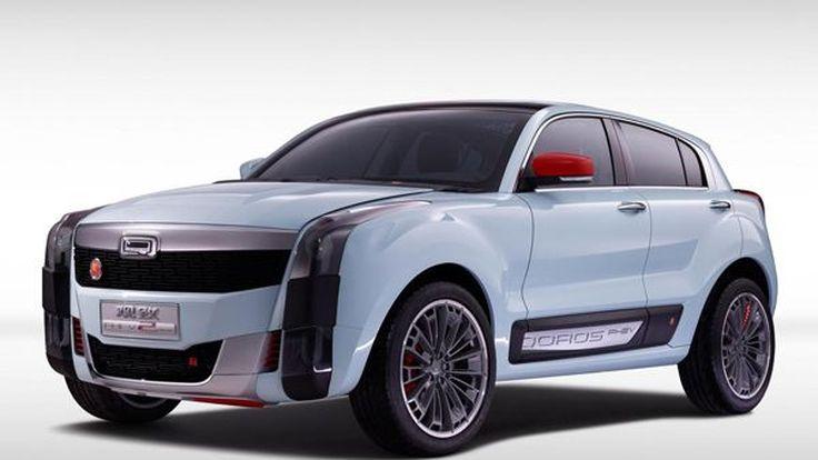 Qoros 2 SUV PHEV Concept รถต้นแบบพลังปลั๊กอินไฮบริด