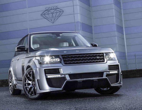 Range Rover แปลงโฉมแบบหวือหวาโดยฝีมือ Onyx Concept