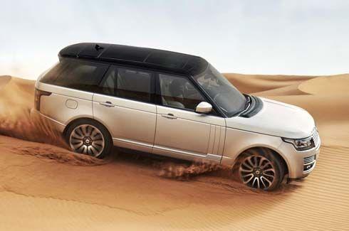 หลุดภาพ Range Rover รุ่นปี 2013 ถอดแบบจาก Evoque ก่อนเปิดตัวที่ปารีส