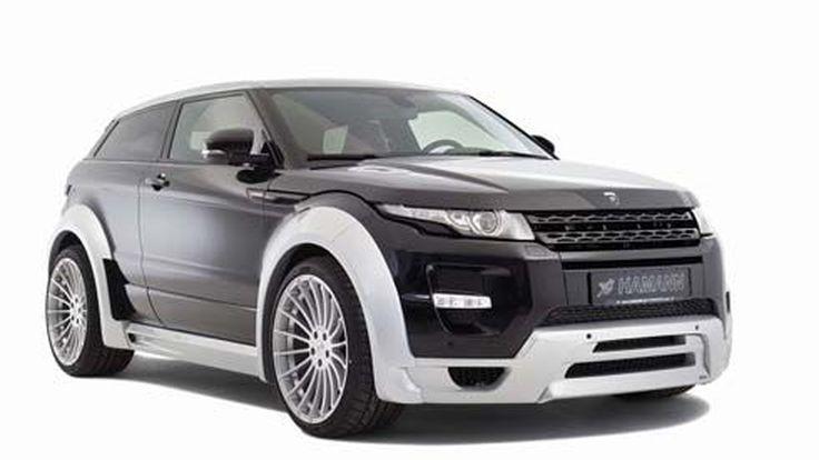 Range Rover Evoque แต่งสปอร์ตทูโทนโดย Hamann พร้อมชุดเสริมกำลังตามรุ่น