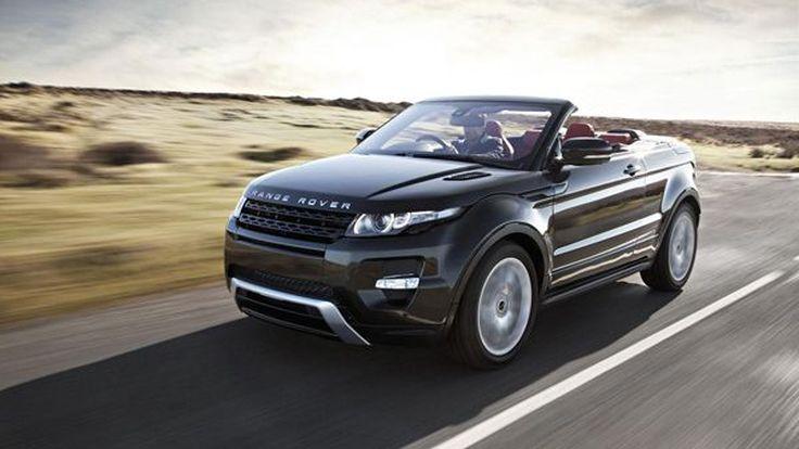 Range Rover Evoque รุ่นเปิดประทุนจ่อเปิดตัวปีหน้า?