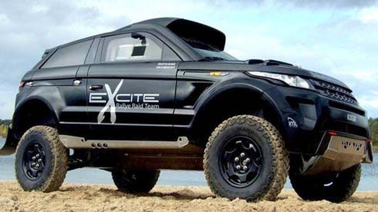 นักรบทะเลทราย Range Rover Evoque Desert Warrior 3 รถแข่งทางฝุ่นระดับโลก