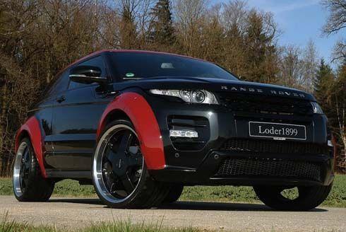 "Range Rover Evoque SD4 ""Horus"" โดย Loder1899 ประทินโฉมเพิ่มม้าเป็น 215 ตัว"