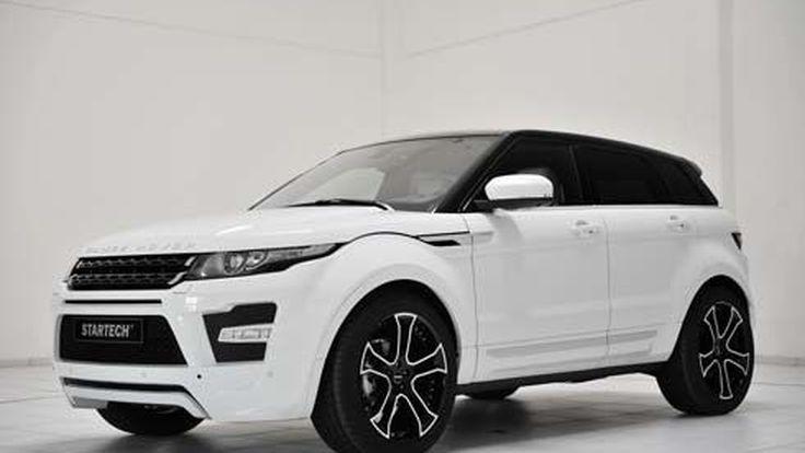 Range Rover Evoque รถแต่งโดย Startech ที่งาน Dubai International Motor Show