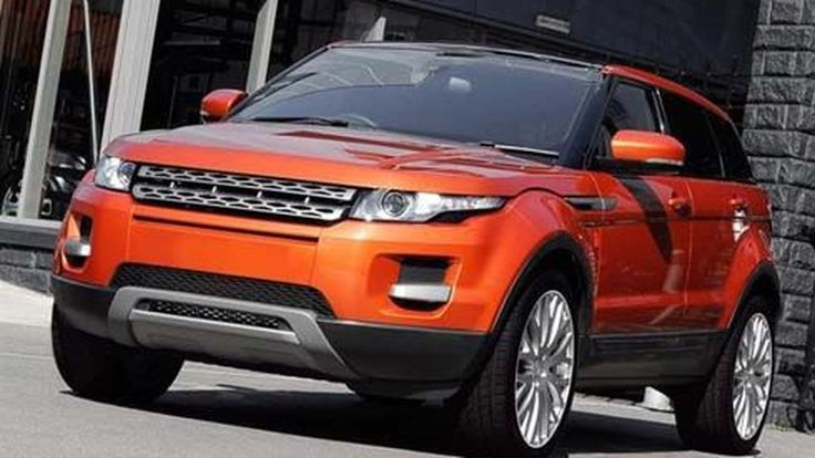 Range Rover Evoque แต่งตัวเปรี้ยวจี๊ด ด้วยชุดแต่ง Vesuvius จาก Kahn Design