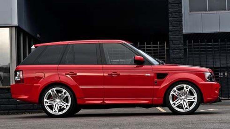 Range Rover Sport แต่งสีแดงแรงฤทธิ์ ปรับเปลี่ยนโดย Kahn Design
