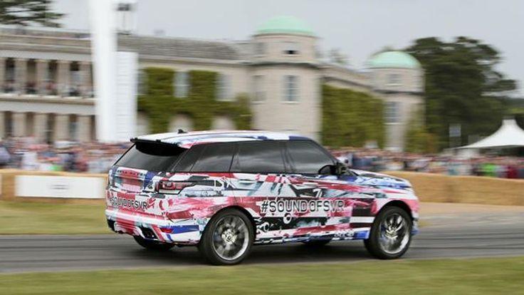 Range Rover Sport SVR เบ่งมัดกล้ามโชว์ความแรงที่ Goodwood
