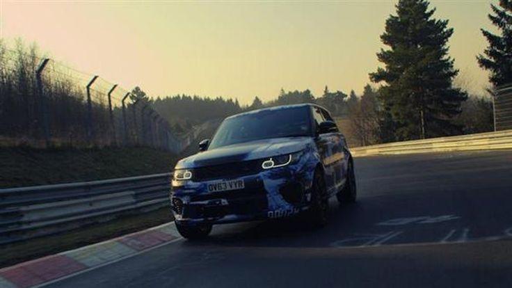 Range Rover Sport SVR รถเอสยูวีที่เร็วที่สุดในเนอร์เบิร์กริง