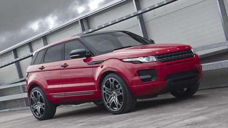 Range Rover Evoque สีแดงแรงฤทธิ์ ปรับแต่งโฉมระดับเบา ในสไตล์ Project Kahn