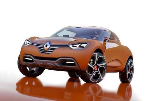 Renault Captur Concept คูเป้เปิดประทุน 3 ประตู เตรียมอวดดีไซน์ล้ำยุคที่เจนีวา