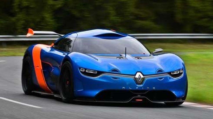 Renault คอนเฟิร์มจับมือ Caterham ร่วมกันพัฒนารถสปอร์ต Alpine รุ่นใหม่