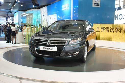 Renault Talisman ใช้ร่าง Samsung SM7 มาสร้างรุ่นใหม่ในงาน Auto China Show