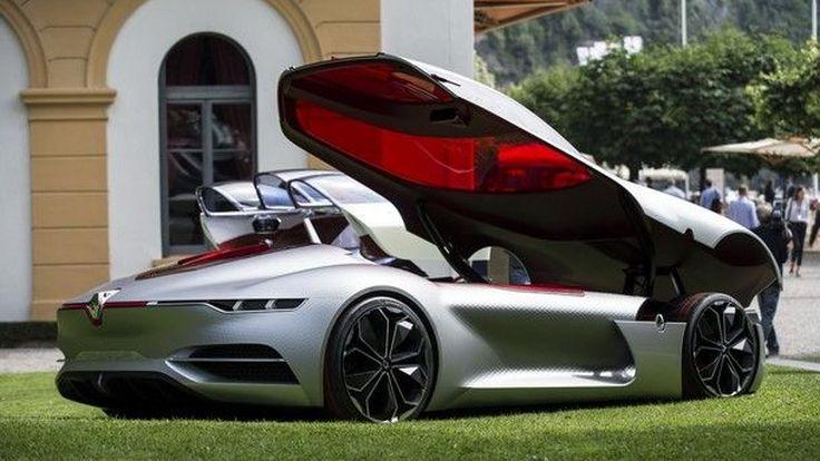 Renault Trezor คอนเซปต์คาร์ไฟฟ้า ที่สวยที่สุดในโลกประจำปี 2017