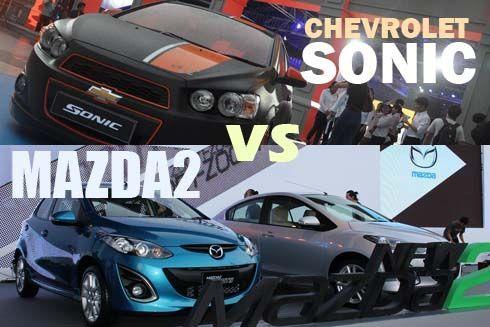 เปรียบเทียบ Chevrolet Sonic vs. Mazda2 สองรถซับคอมแพคท์ที่ขับสนุกที่สุด