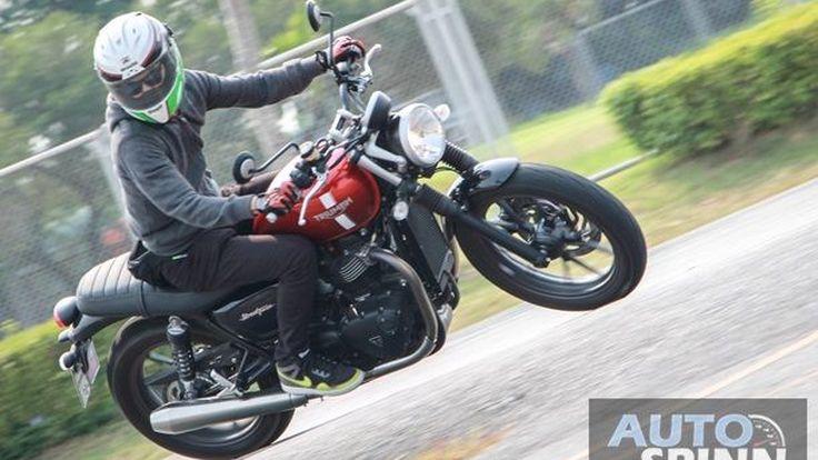 [Test Ride] Triumph Streeet Twin: ก้าวกระโดดครั้งใหญ่ของเจ้าพ่อเรโทรไบค์ที่ใครก็ตามไม่ทัน
