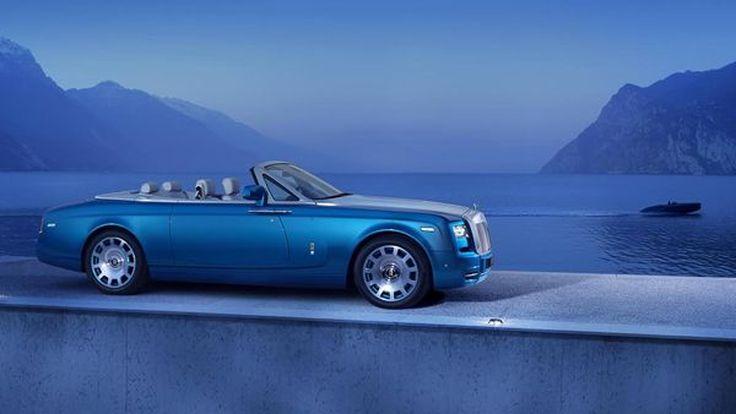 Rolls-Royce Phantom Drophead Coupe Waterspeed รุ่นพิเศษ โชว์ของแต่งพรีเมียม