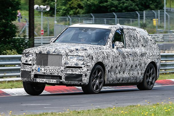 "Rolls-Royce ยืนยันใช้ชื่อ ""Cullinan"" สำหรับรถเอสยูวี"