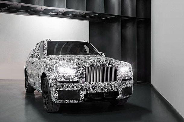"""Rolls-Royce เผยภาพแรก """"The Project Cullinan"""" รถซูเปอร์เอสยูวี"""