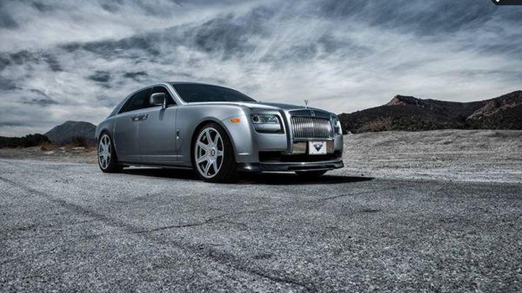 Rolls-Royce Ghost แต่งยกระดับความหรูหราโดยสำนัก Vorsteiner