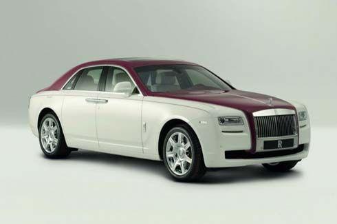 Rolls-Royce Ghost 2012 รุ่นพิเศษคันเดียวในโลก สำหรับมหาเศรษฐีกาตาร์
